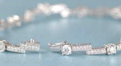 3.0CT TW White Gold Diamond Bracelet