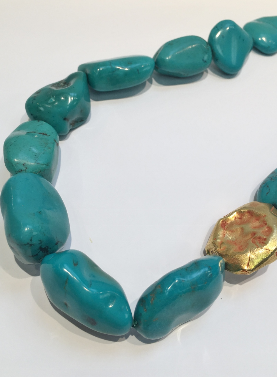 20 Inch Turquoise Necklace