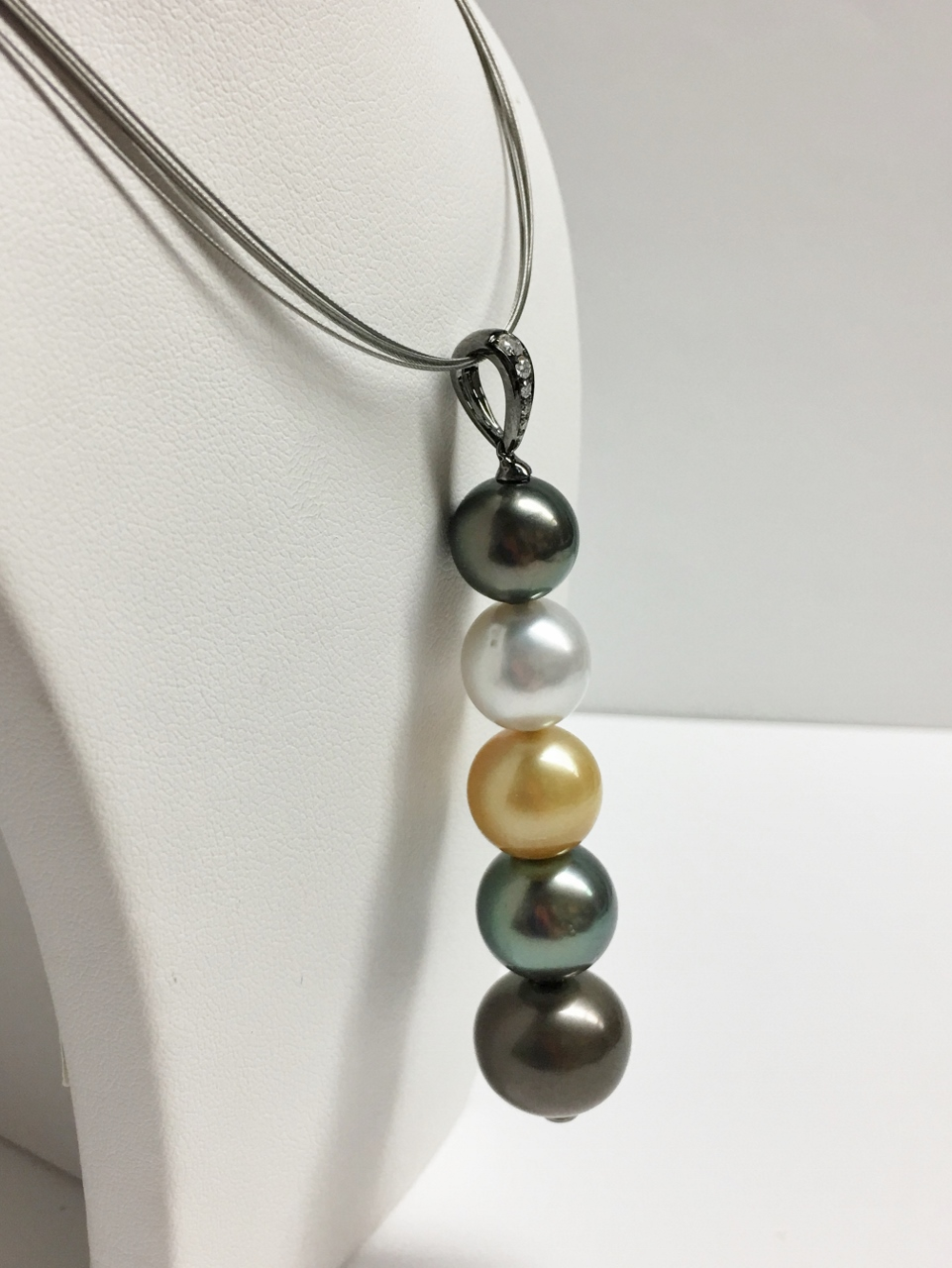 Mixed Pearl Pendant