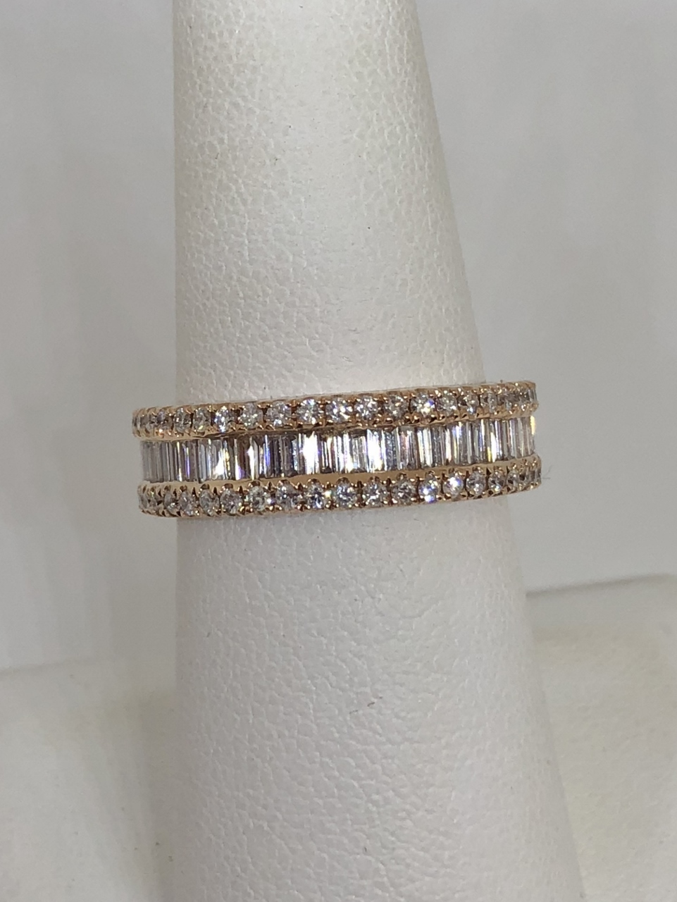 1-3/4 Carats Total Weight Eternity Diamond Band