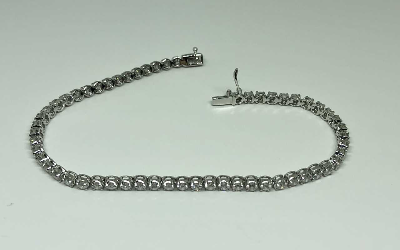 3 Carats Diamond Tennis Bracelet
