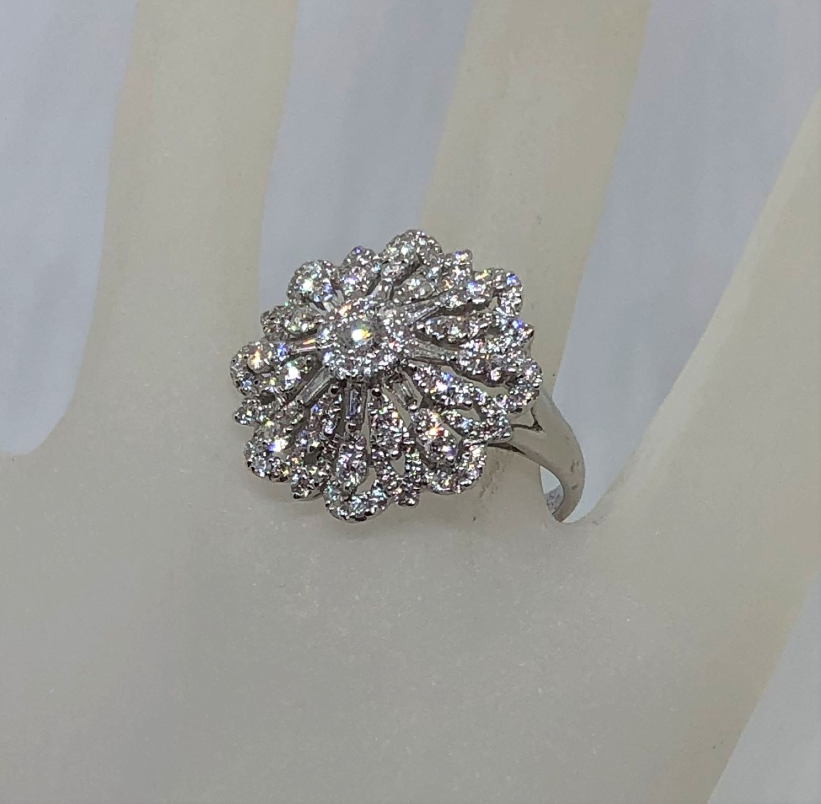 1.3 Carats Cocktail Diamond Ring