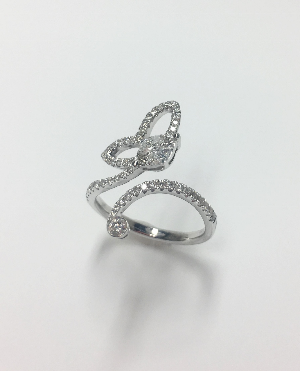 Half Carats Total Weight Diamond Ring