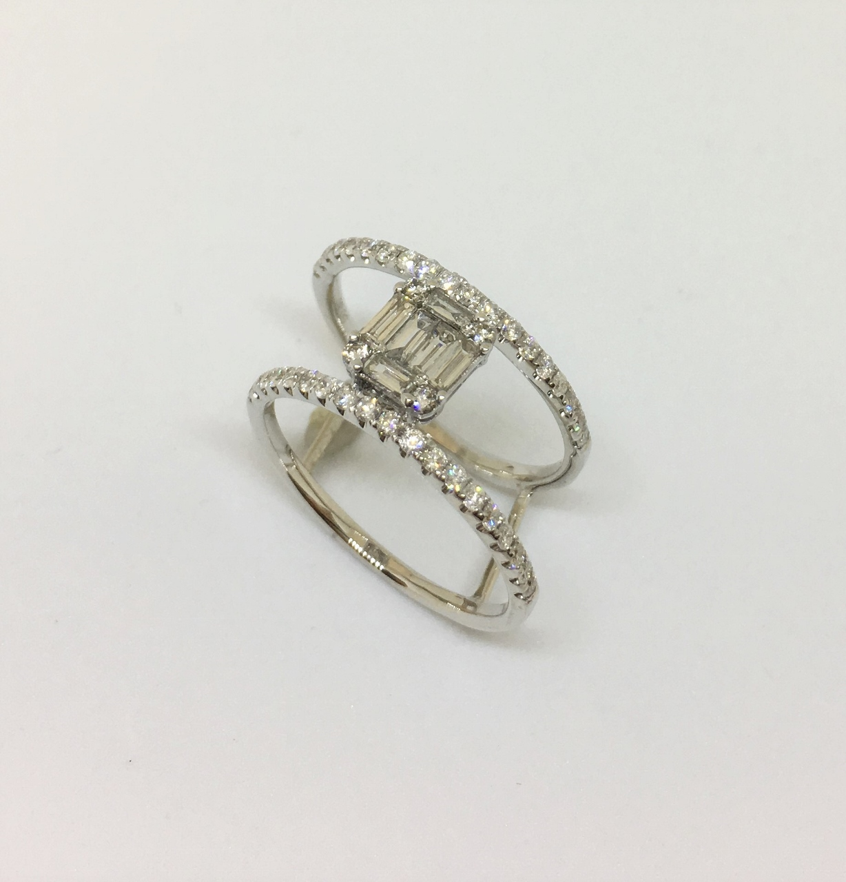 Under 1 Carat Total Weight Diamond Cocktail Ring