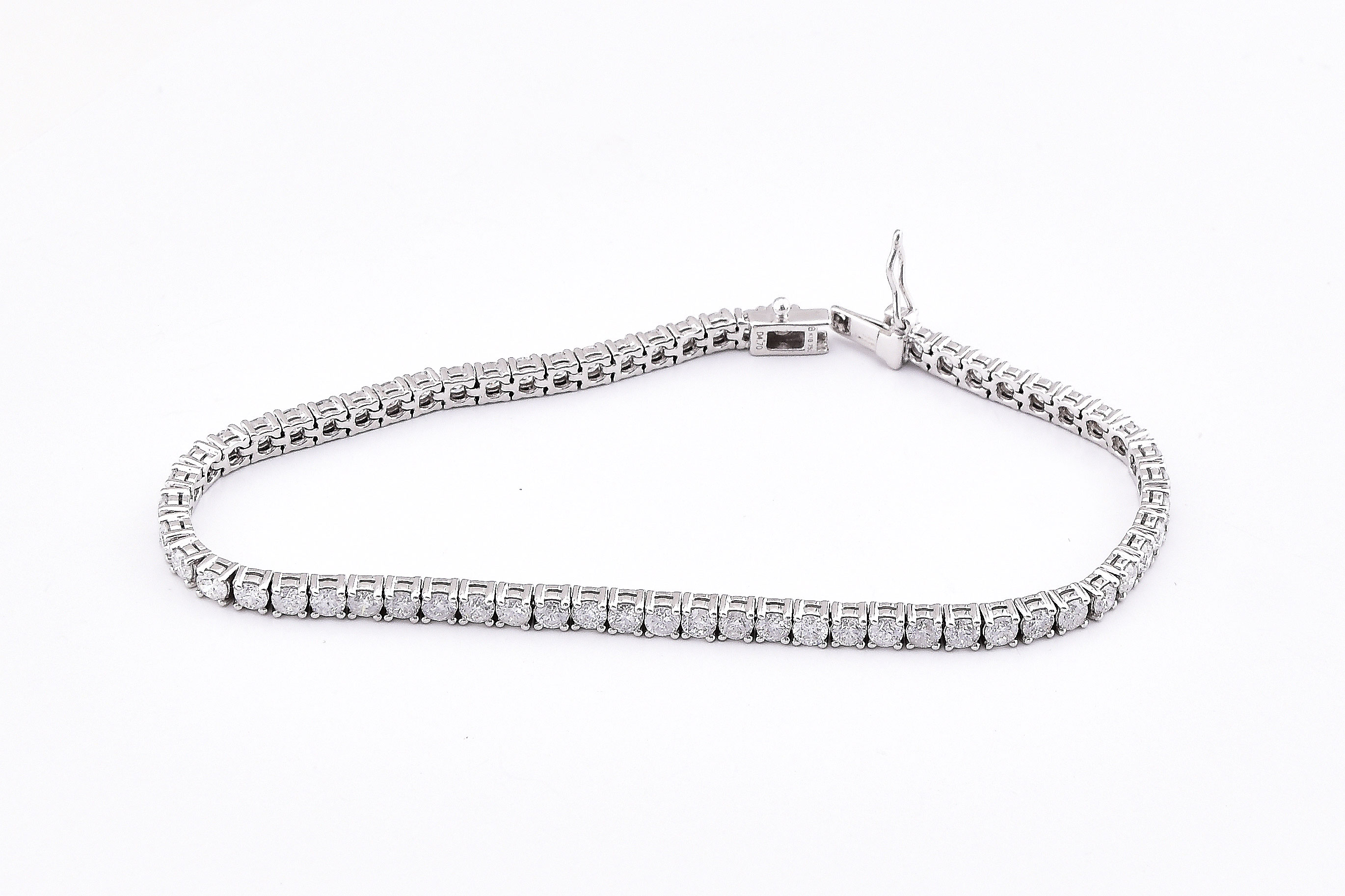 Over 4.5 Carats Diamond Tennis Bracelet
