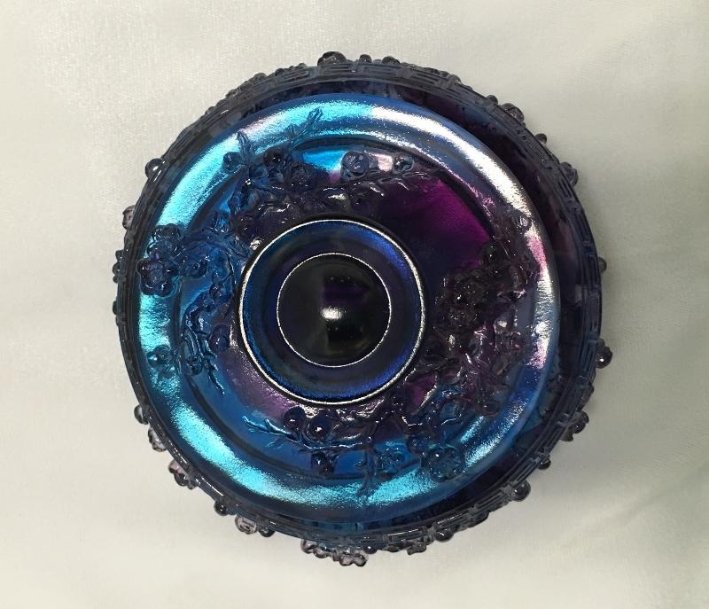 Liuli Glass Jewelry Box - Plum Blossoms