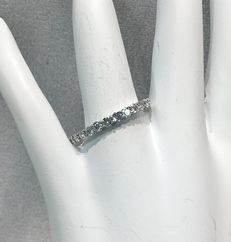 Three Quarters Carats Diamond Band