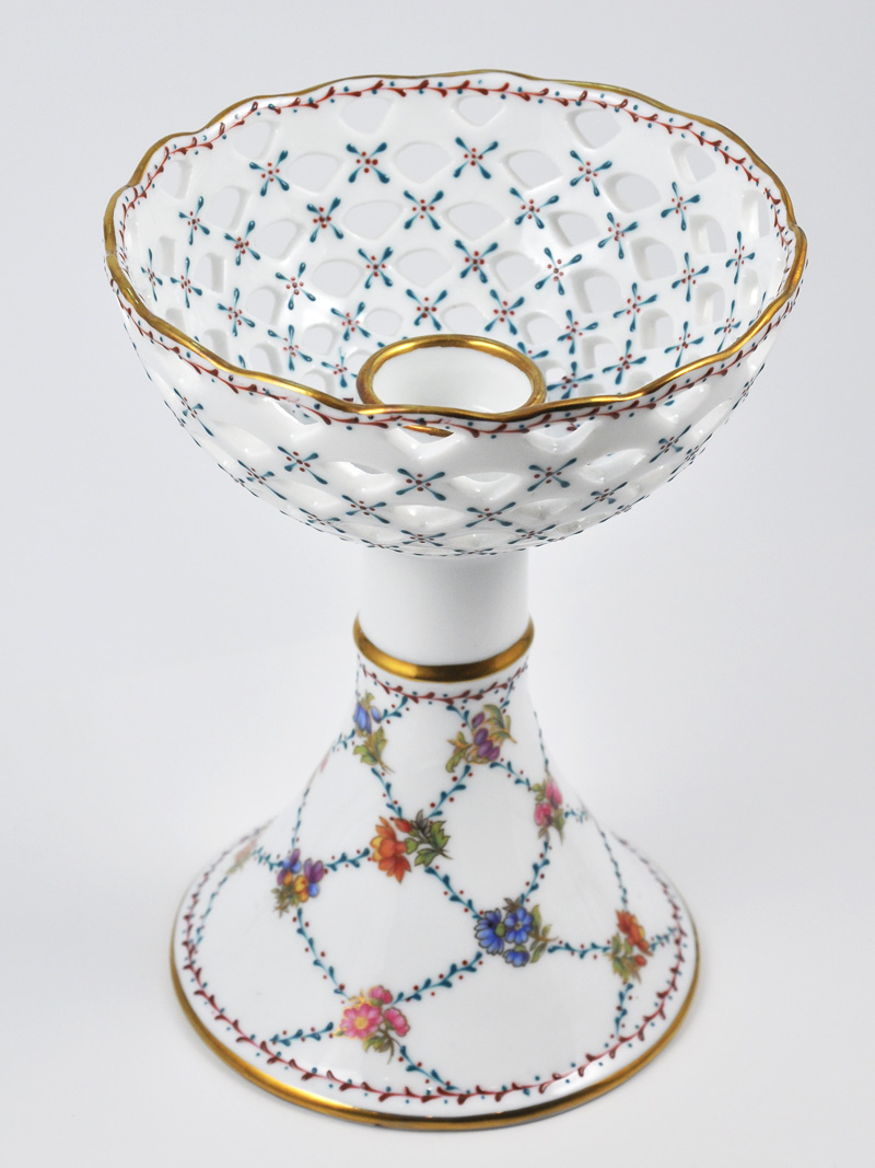 Charming Chinese Porcelain Candle Holder