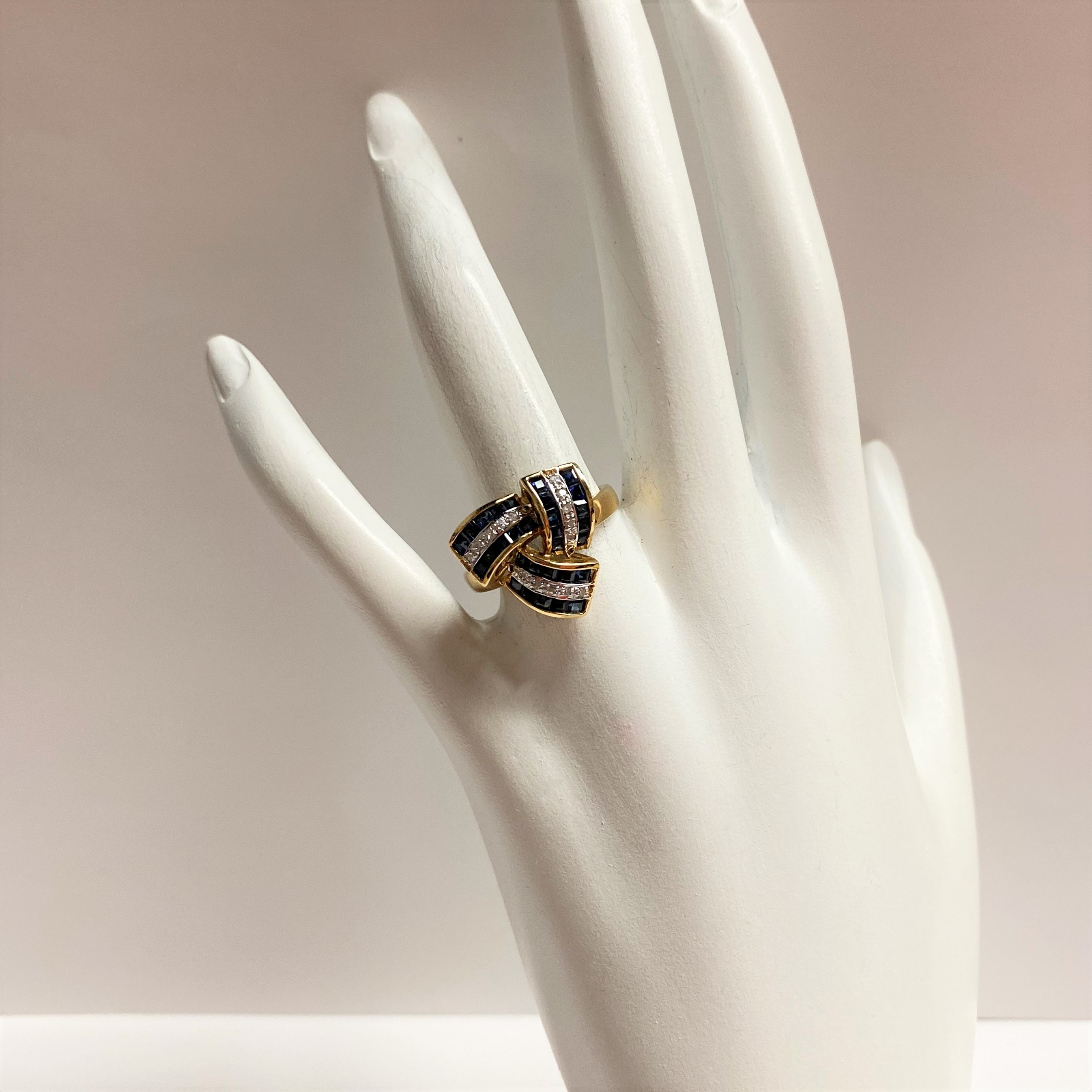 Half Carats Total Weight Sapphire Ring